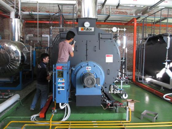 tháo và bảo trì lò hơi công nghiệp